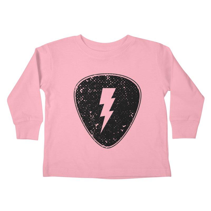 Ray Pick Kids Toddler Longsleeve T-Shirt by mhacksi's Artist Shop