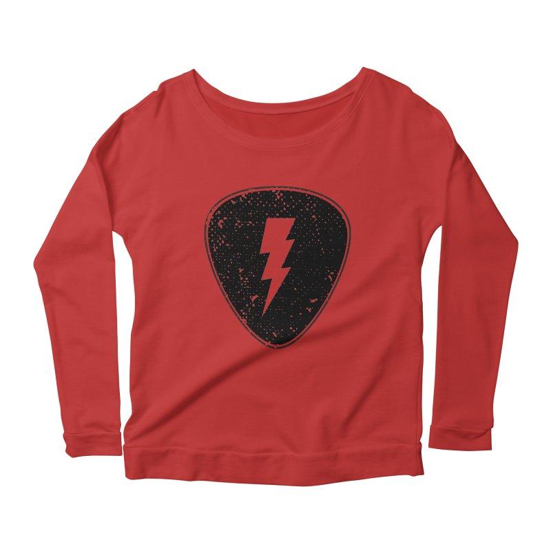 Ray Pick Women's Scoop Neck Longsleeve T-Shirt by mhacksi's Artist Shop