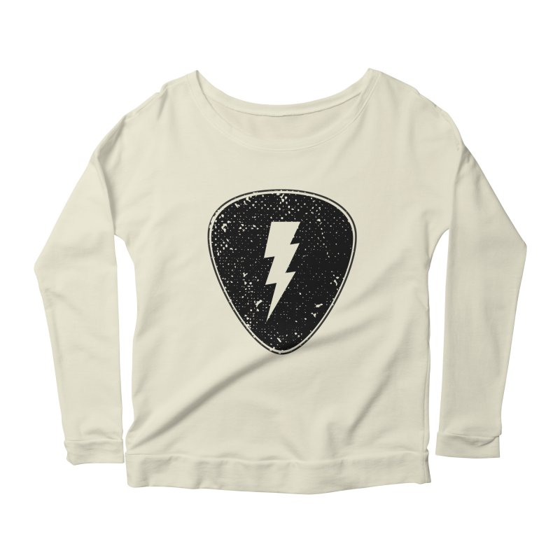 Ray Pick Women's Longsleeve Scoopneck  by mhacksi's Artist Shop