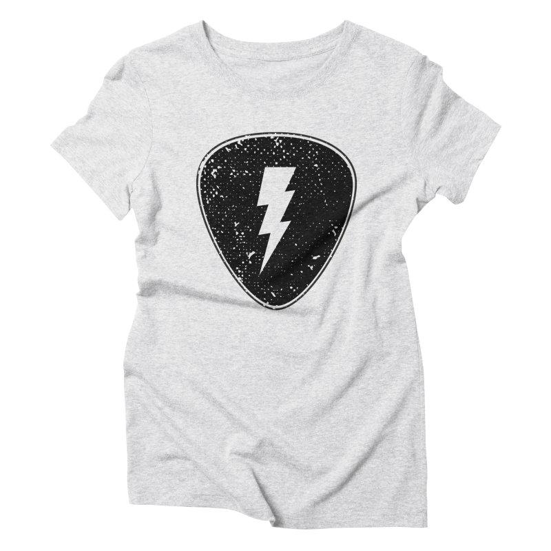 Ray Pick Women's Triblend T-Shirt by mhacksi's Artist Shop