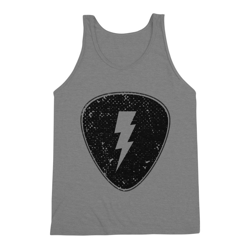 Ray Pick Men's Triblend Tank by mhacksi's Artist Shop