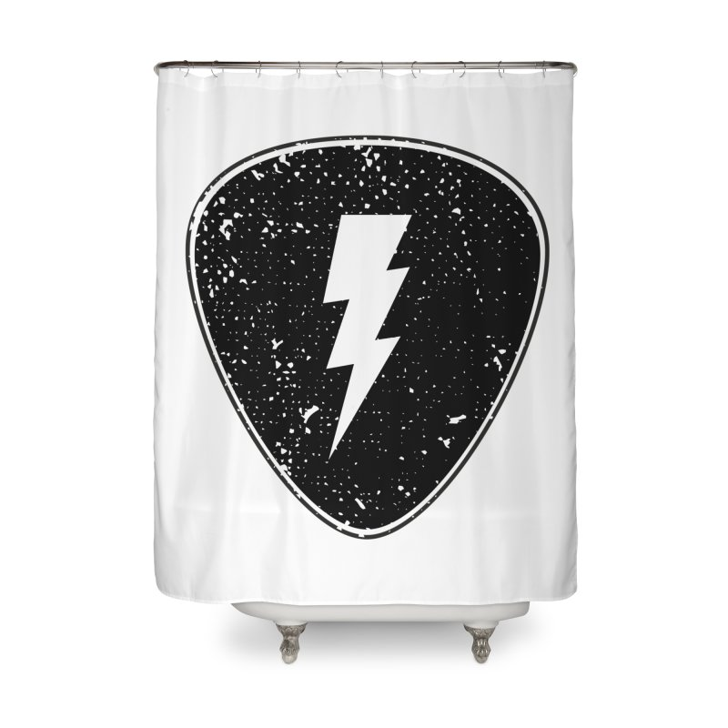 Ray Pick Home Shower Curtain by mhacksi's Artist Shop