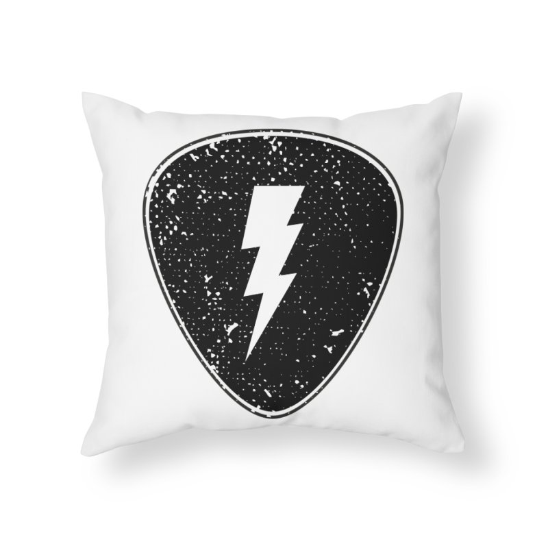 Ray Pick Home Throw Pillow by mhacksi's Artist Shop