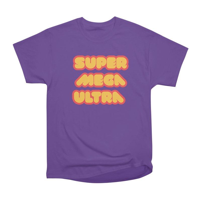 Super Mega Ultra Men's Heavyweight T-Shirt by mhacksi's Artist Shop