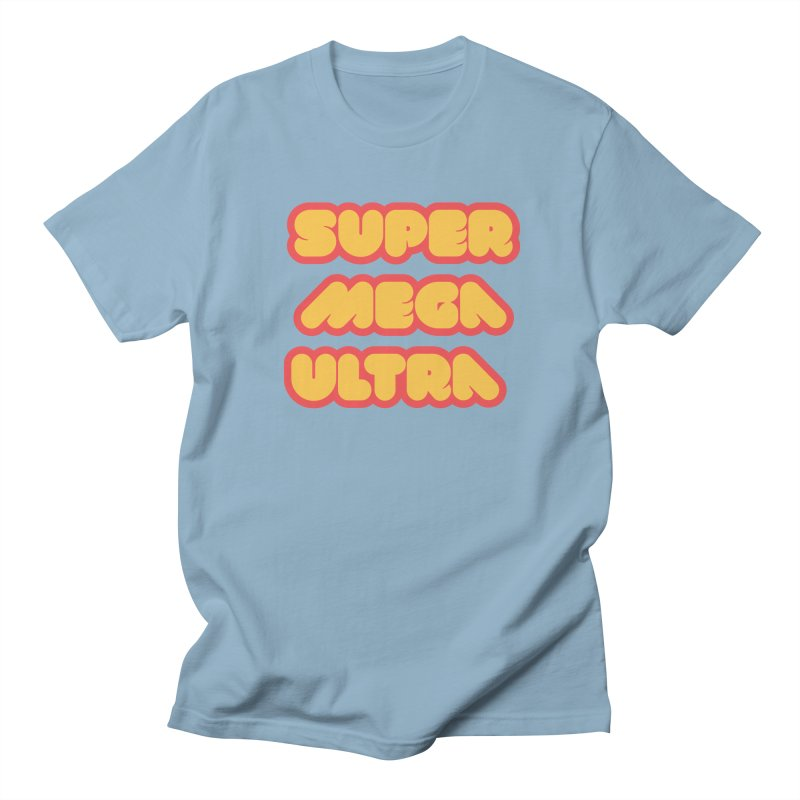 Super Mega Ultra Men's Regular T-Shirt by mhacksi's Artist Shop