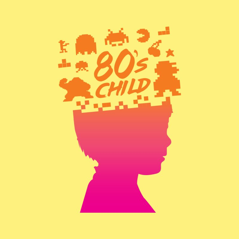 80s child None  by mhacksi's Artist Shop