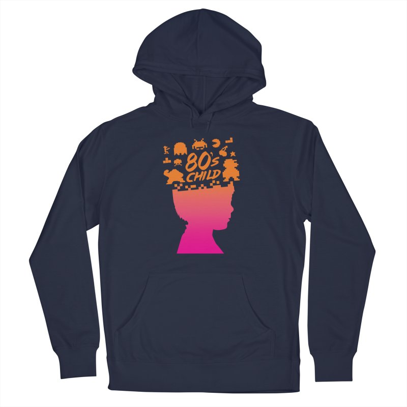 80s child Women's Pullover Hoody by mhacksi's Artist Shop