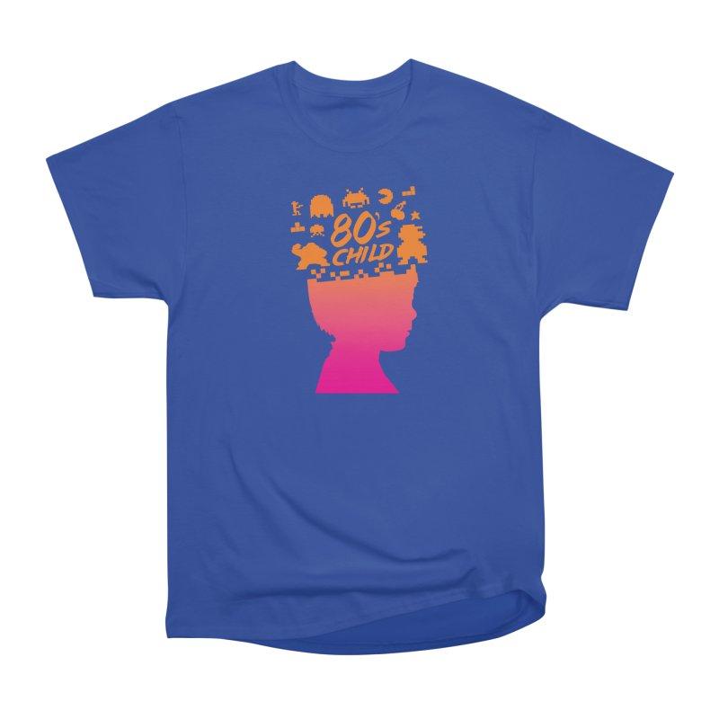 80s child Women's Heavyweight Unisex T-Shirt by mhacksi's Artist Shop
