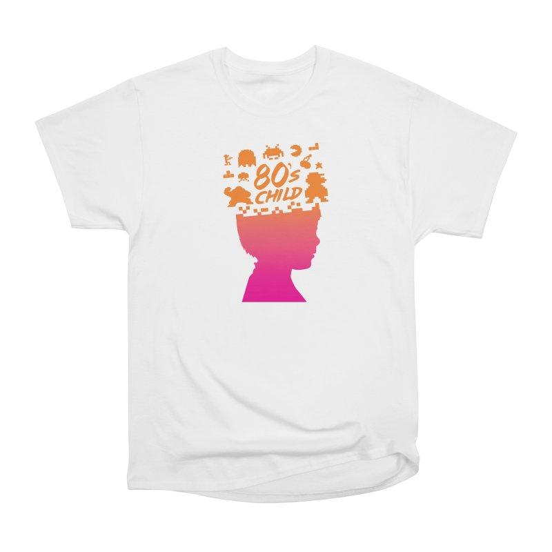 80s child Men's Heavyweight T-Shirt by mhacksi's Artist Shop