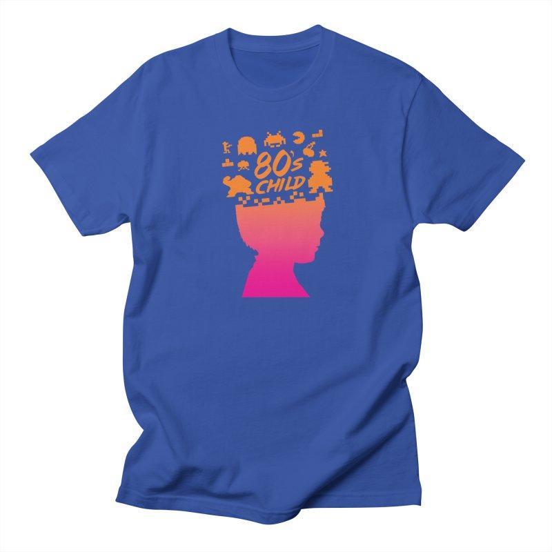 80s child Women's Unisex T-Shirt by mhacksi's Artist Shop