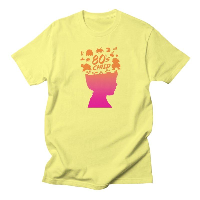 80s child Men's Regular T-Shirt by mhacksi's Artist Shop