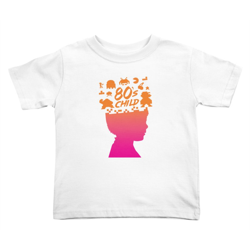 80s child Kids Toddler T-Shirt by mhacksi's Artist Shop