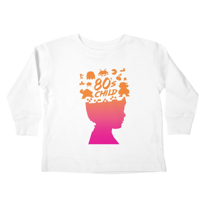 80s child Kids Toddler Longsleeve T-Shirt by mhacksi's Artist Shop