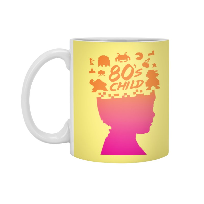 80s child Accessories Standard Mug by mhacksi's Artist Shop