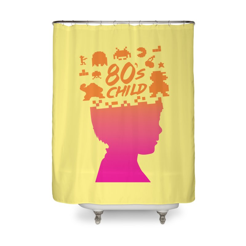 80s child Home Shower Curtain by mhacksi's Artist Shop