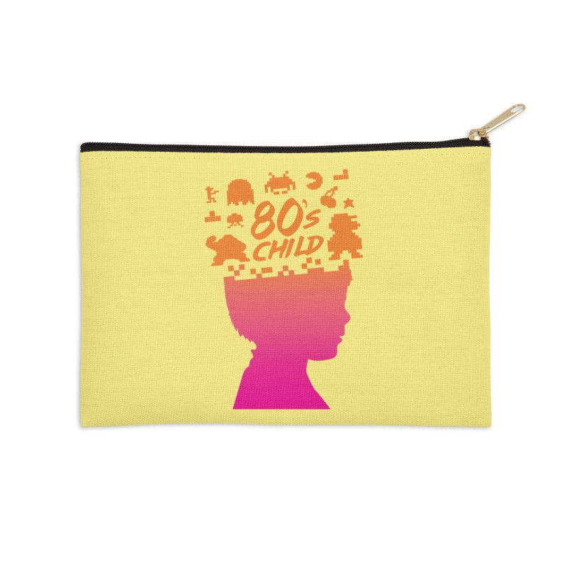 80s child Accessories Zip Pouch by mhacksi's Artist Shop