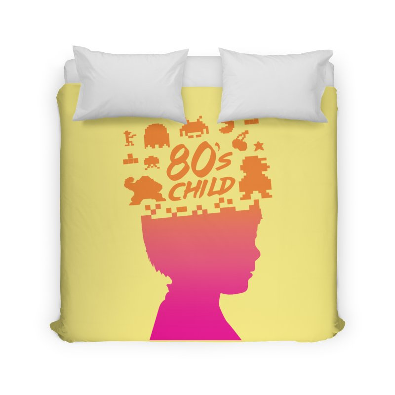 80s child Home Duvet by mhacksi's Artist Shop