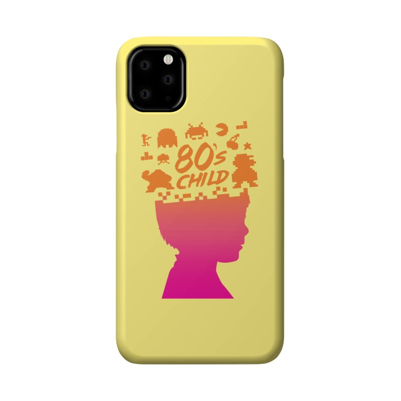 80s child Accessories Phone Case by mhacksi's Artist Shop