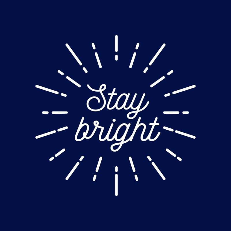 Stay Bright Accessories Beach Towel by mhacksi's Artist Shop