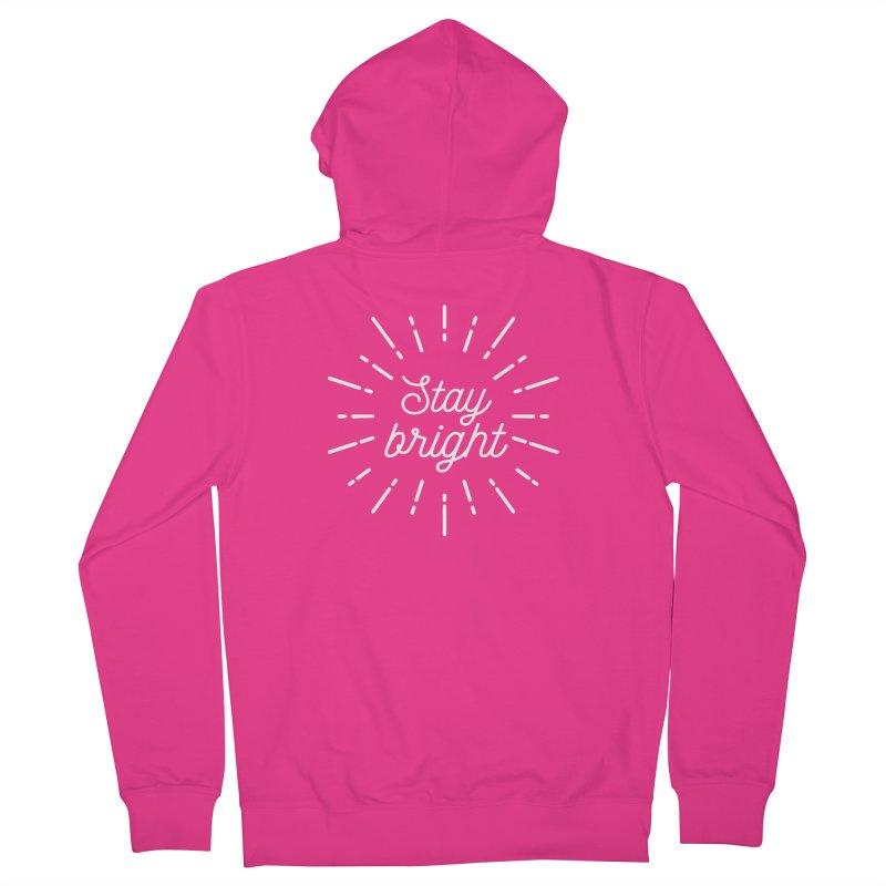 Stay Bright Men's Zip-Up Hoody by mhacksi's Artist Shop