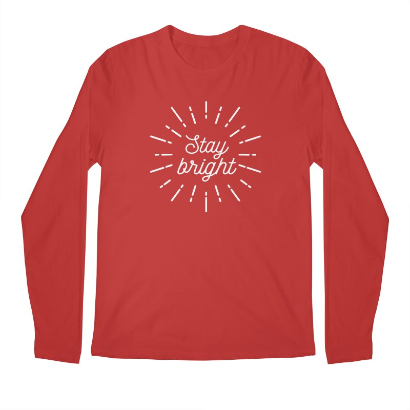 Stay Bright Men's Longsleeve T-Shirt by mhacksi's Artist Shop