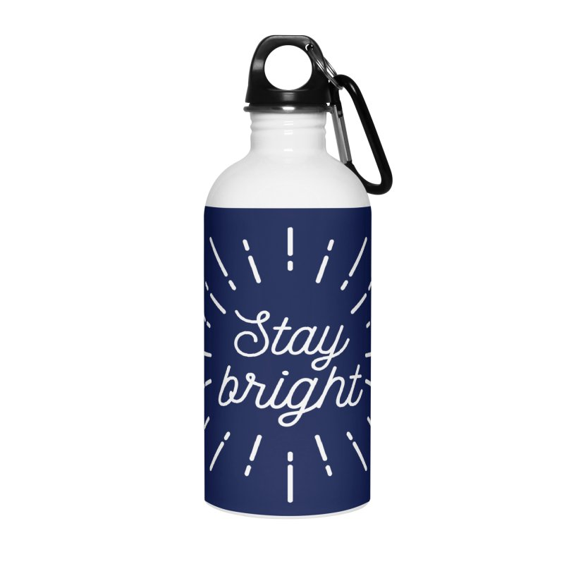 Stay Bright Accessories Water Bottle by mhacksi's Artist Shop