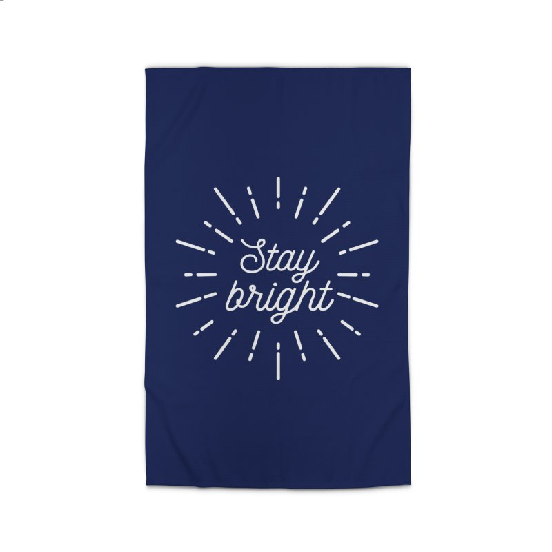 Stay Bright Home Rug by mhacksi's Artist Shop