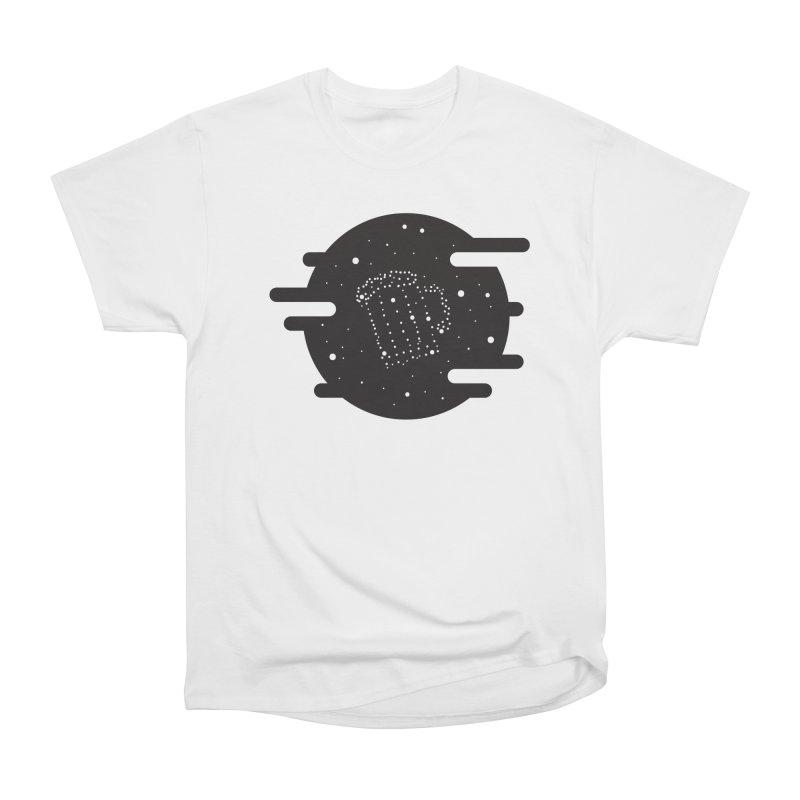 Beer constelation Women's Heavyweight Unisex T-Shirt by mhacksi's Artist Shop