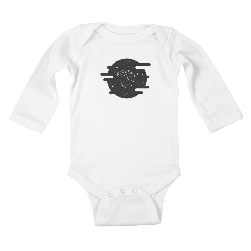 Beer constelation Kids Baby Longsleeve Bodysuit by mhacksi's Artist Shop
