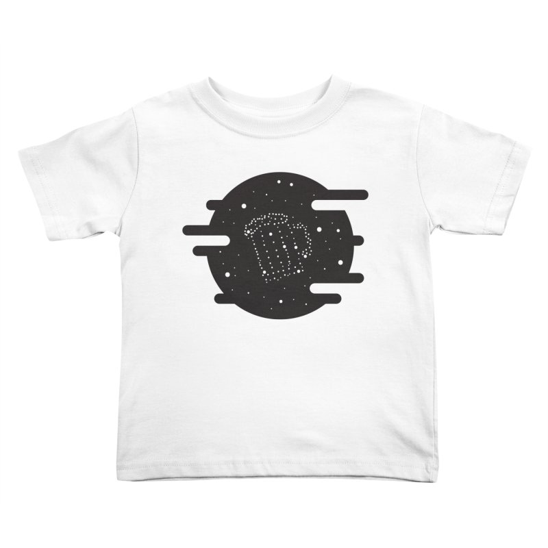 Beer constelation Kids Toddler T-Shirt by mhacksi's Artist Shop