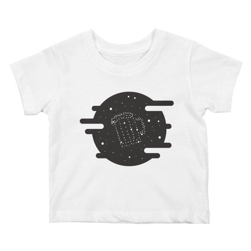 Beer constelation Kids Baby T-Shirt by mhacksi's Artist Shop
