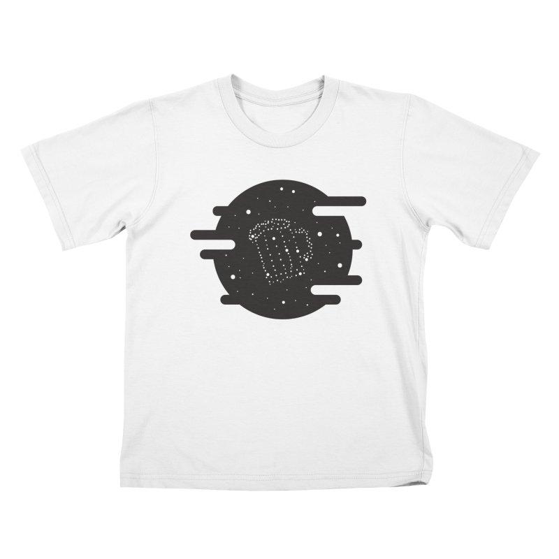 Beer constelation Kids T-Shirt by mhacksi's Artist Shop