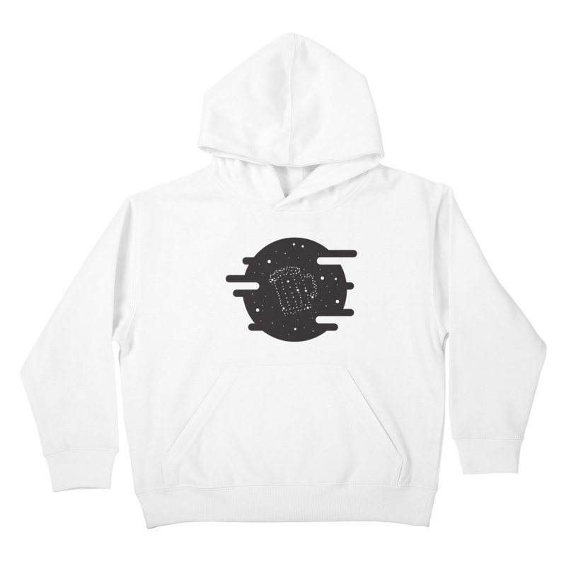 Beer constelation Kids Pullover Hoody by mhacksi's Artist Shop