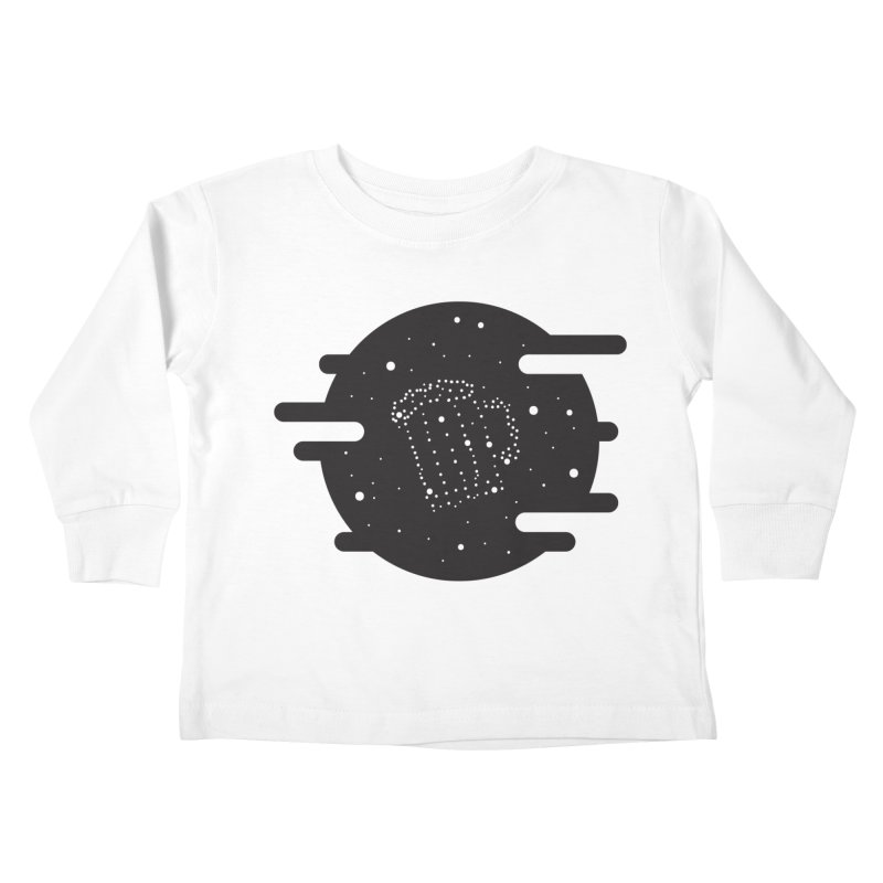 Beer constelation Kids Toddler Longsleeve T-Shirt by mhacksi's Artist Shop