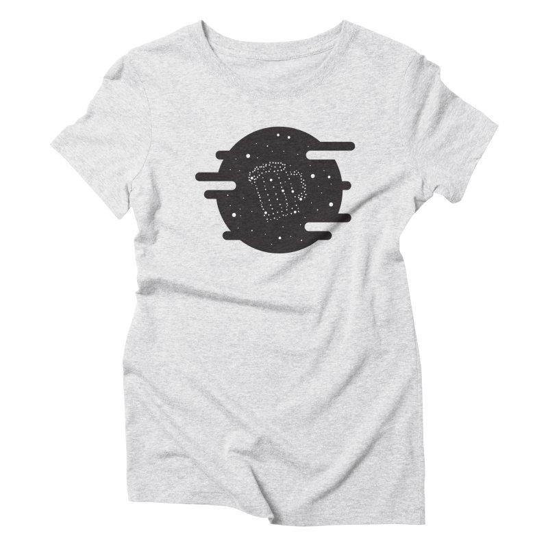 Beer constelation Women's Triblend T-shirt by mhacksi's Artist Shop