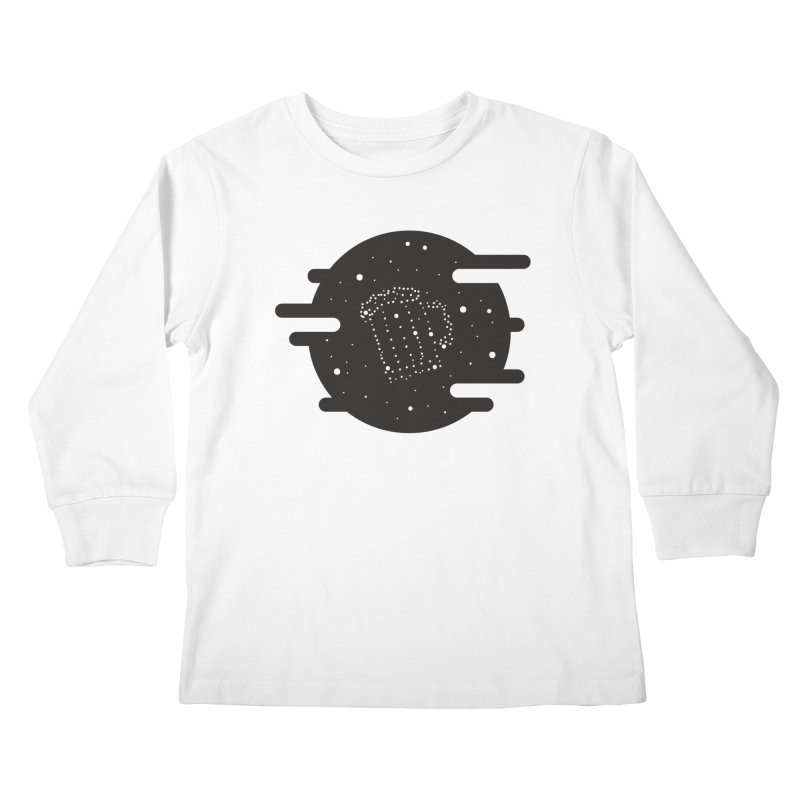 Beer constelation Kids Longsleeve T-Shirt by mhacksi's Artist Shop