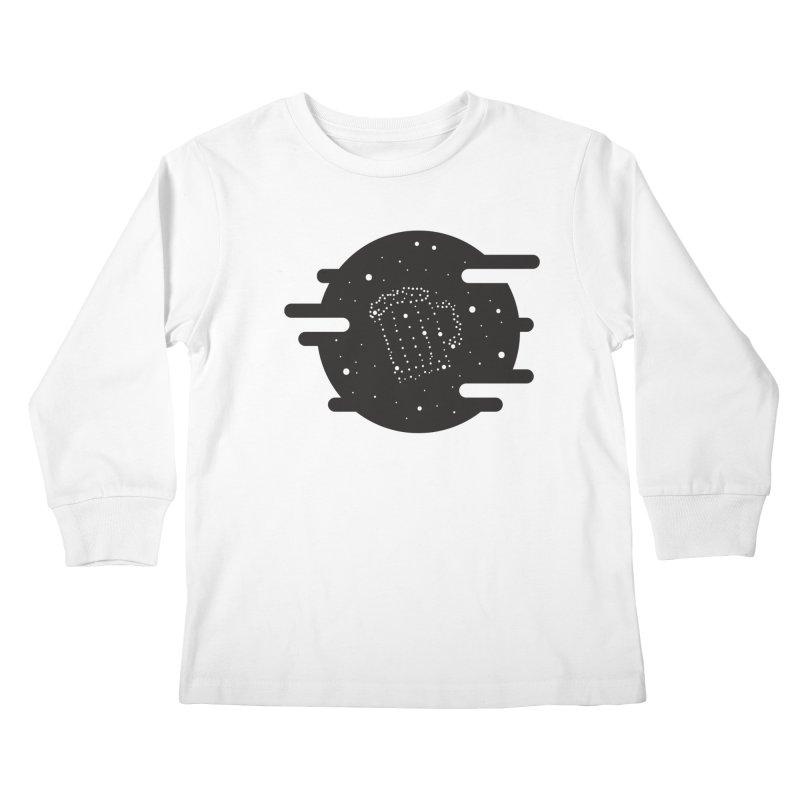 Beer constelation Kids Longsleeve T-Shirt by mhacksi's Artist Shop