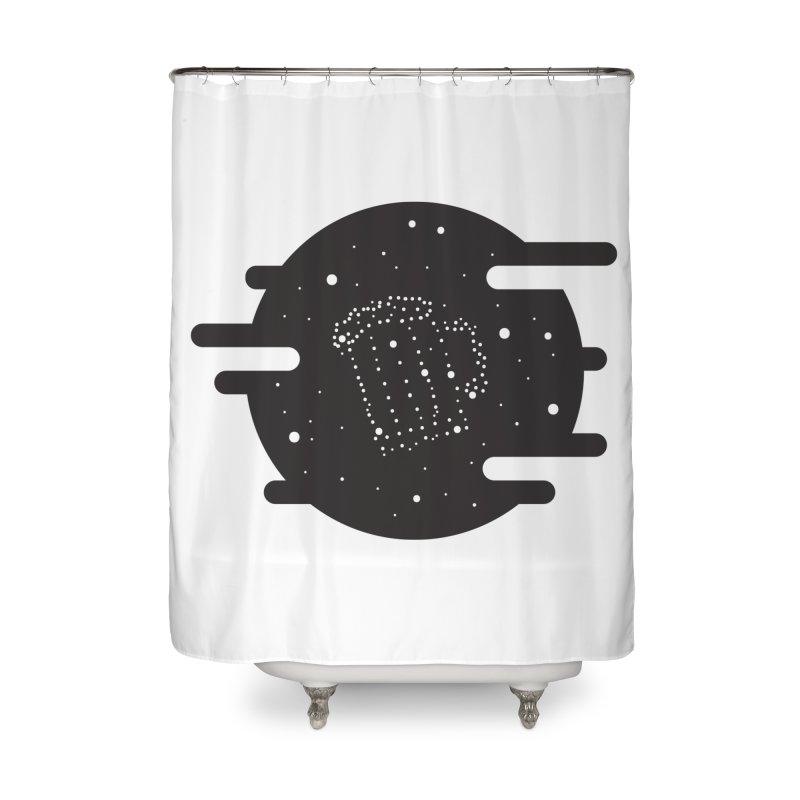 Beer constelation Home Shower Curtain by mhacksi's Artist Shop