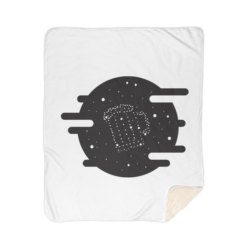 Beer constelation Home Sherpa Blanket Blanket by mhacksi's Artist Shop