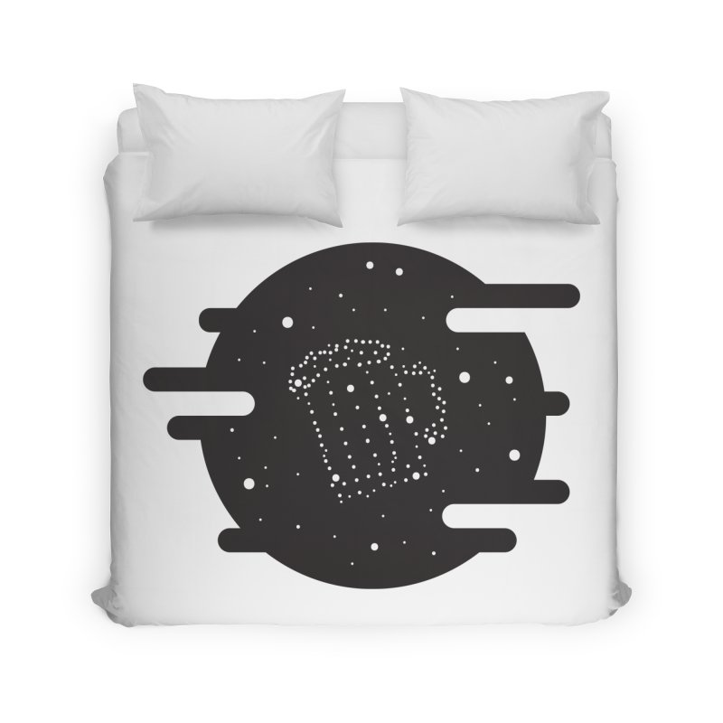 Beer constelation Home Duvet by mhacksi's Artist Shop