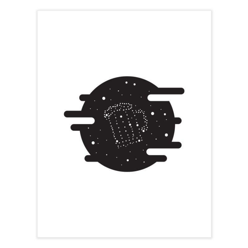 Beer constelation Home Fine Art Print by mhacksi's Artist Shop
