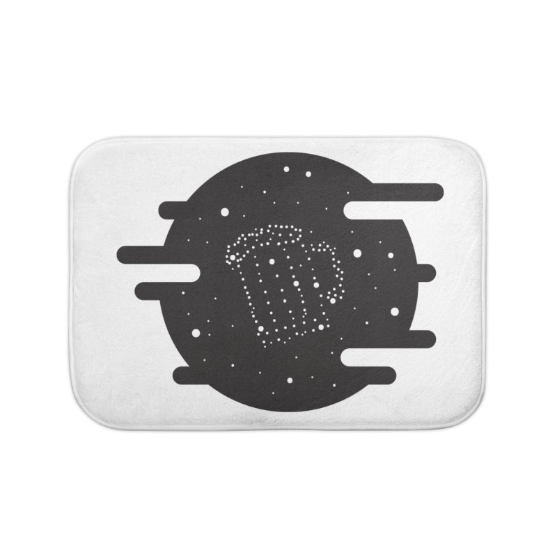 Beer constelation Home Bath Mat by mhacksi's Artist Shop