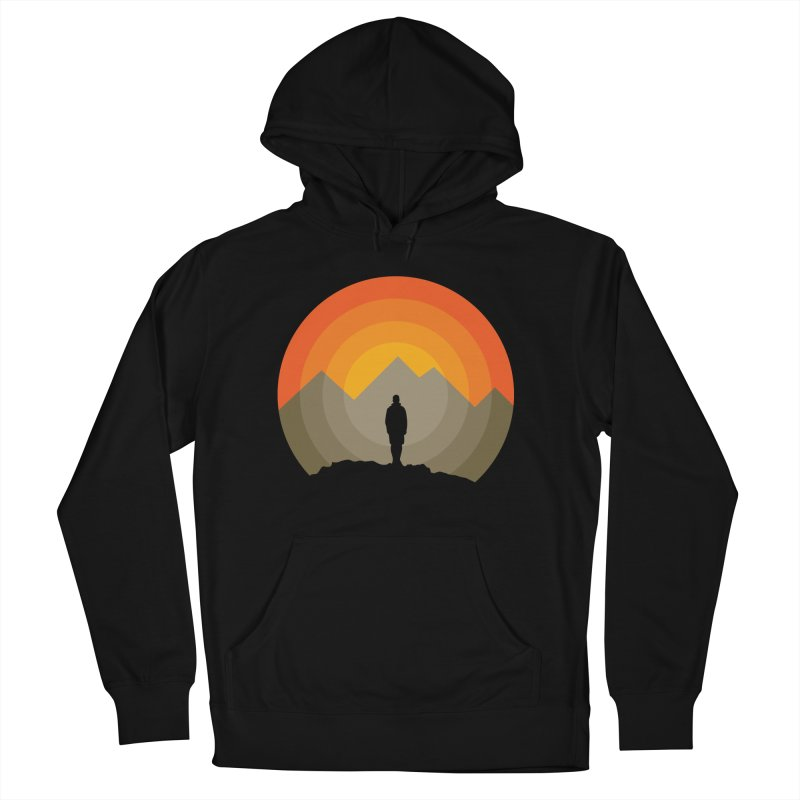 Explorer Women's French Terry Pullover Hoody by mhacksi's Artist Shop
