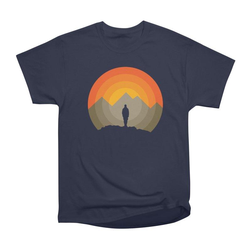 Explorer Men's Heavyweight T-Shirt by mhacksi's Artist Shop