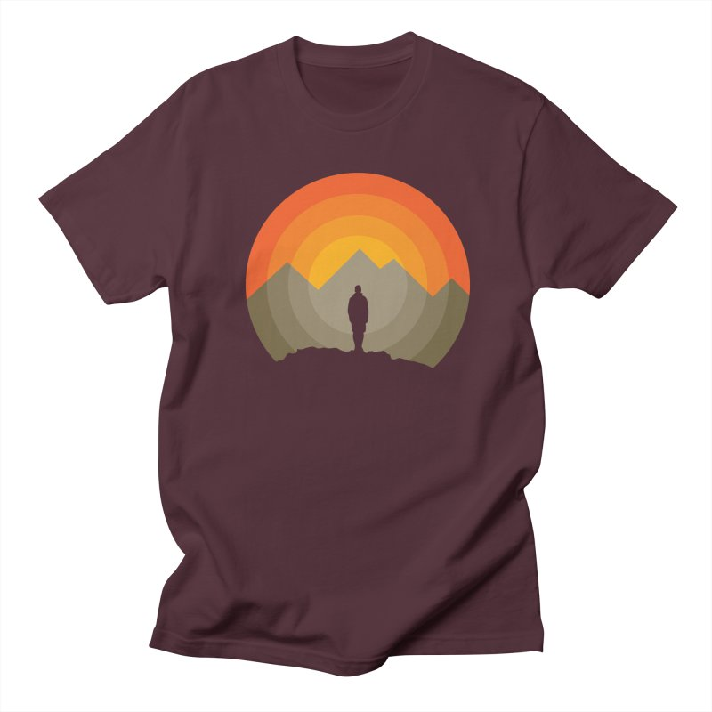 Explorer Men's Regular T-Shirt by mhacksi's Artist Shop