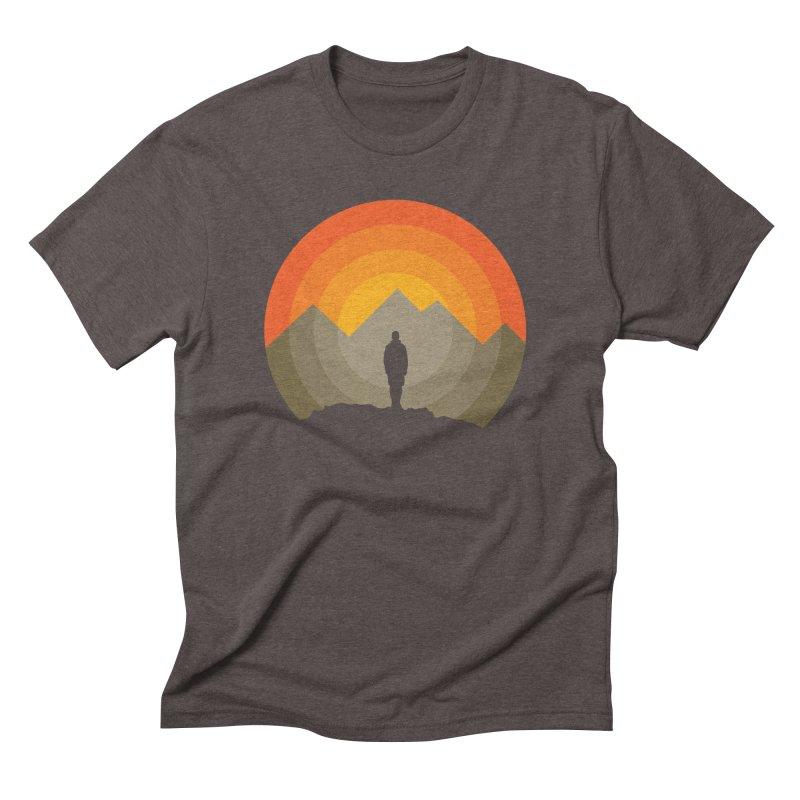 Explorer Men's Triblend T-Shirt by mhacksi's Artist Shop