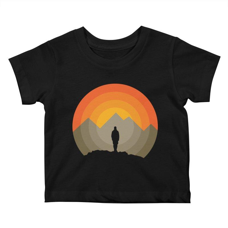 Explorer Kids Baby T-Shirt by mhacksi's Artist Shop