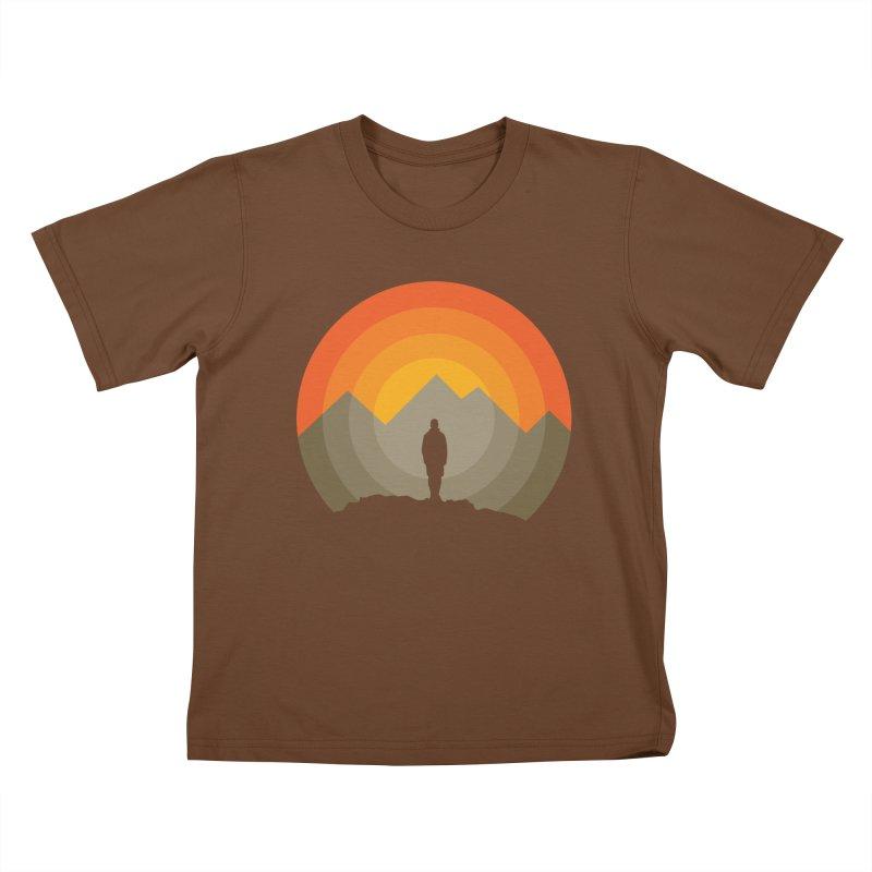 Explorer Kids T-Shirt by mhacksi's Artist Shop