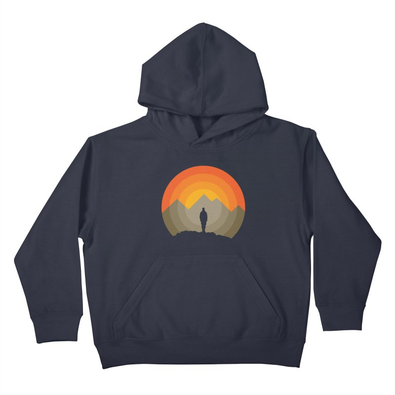 Explorer Kids Pullover Hoody by mhacksi's Artist Shop