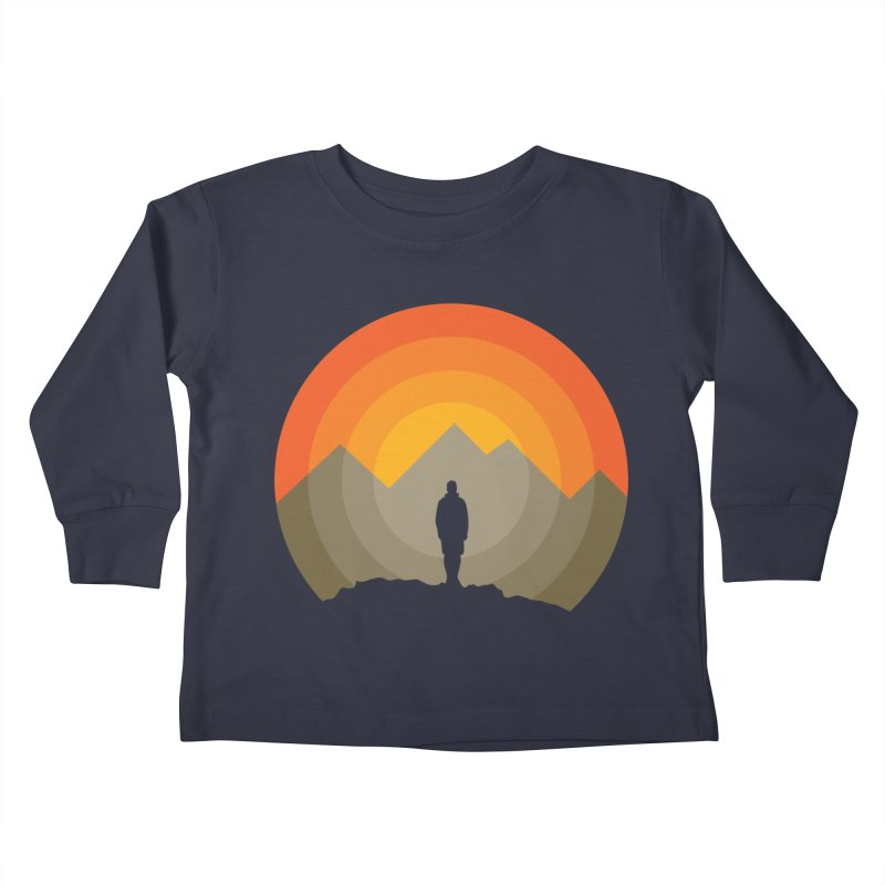 Explorer Kids Toddler Longsleeve T-Shirt by mhacksi's Artist Shop